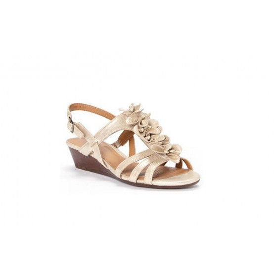 CLARKS PLAYFUL GIFT LEATHER ORO