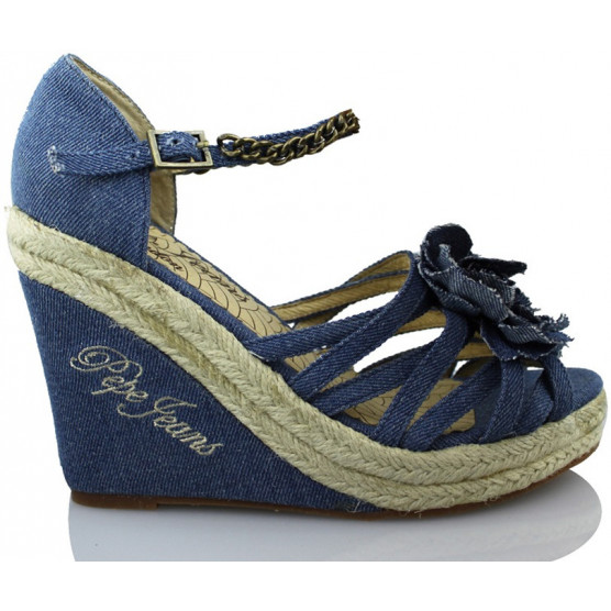 PEPE JEANS JEANS WOMAN HI  AZUL