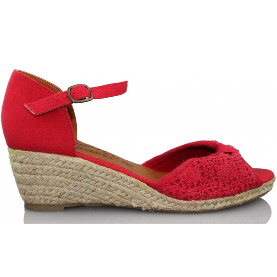 MARIA MARE CROCHET ELECTRIC ROJO