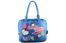 HELLO KITTY BOLSO GRANDE MARINO
