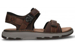 SANDALIAS CLARKS UN TREK PART BROWN