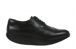 ZAPATOS DE VESTIR MBT OXFORD WING TIP M BLACK_CALF