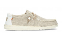 ZAPATOS DUDE WALLY BRAIDED M OFF_WHITE