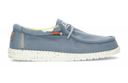 ZAPATOS DUDE WALLY WASHED 1115 BLUE_STONE