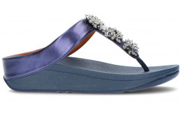 SANDALIAS FITFLOP GALAXY TOE-THONGS BLUE