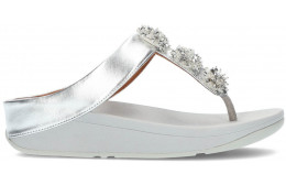 SANDALIAS FITFLOP GALAXY TOE-THONGS SILVER