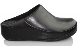 FITFLOP GOGH MOCC LEATHER NEGRO