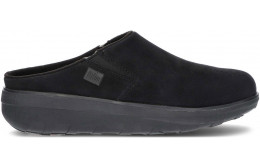 ZUECO FITFLOP LOAFF SUEDE B80 BLACK