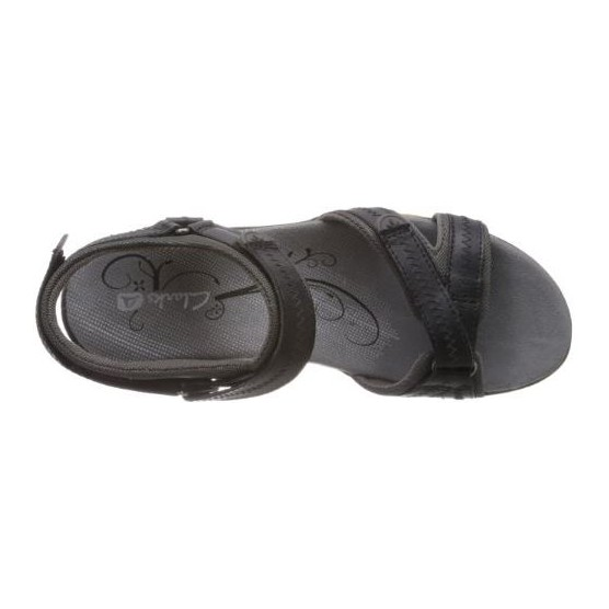 CLARKS ISNA PEBBLE W color BLACK