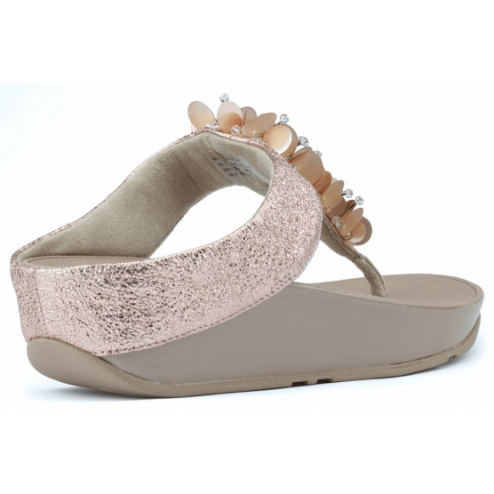 SANDALIAS FITFLOP BOONGALOO ROSE GOLD